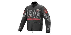 jacket VENTURE R 2021, ALPINESTARS (grey camo/red fluo/black)