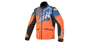 jacket VENTURE R 2021, ALPINESTARS (orange/gray/blue)