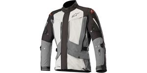 jacket YAGUARA DRYSTAR, TECH-AIR compatible, ALPINESTARS (black/grey/light grey)