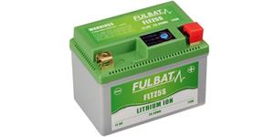 lithium battery  LiFePO4  FULBAT  12V, 1,6Ah, 110A, weight 0,36 kg, 113x70x85