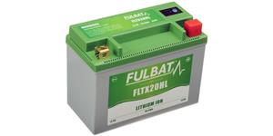 lithium battery  LiFePO4  FULBAT  12V, 7Ah, 420A, weight 1,12 kg, 175x87x130