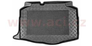 plastic trunk mat of luggage boot with antiskid adjustment (verze with one floor in trunk)
