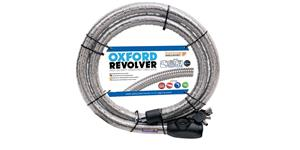 Revolver, OXFORD (silver, length 1,8 m)