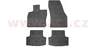 rubber floor mats (set 4 pcs)
