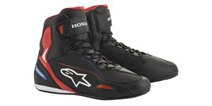 shoes FASTER-3 HONDA collection 2021, ALPINESTARS (black/red/blue)