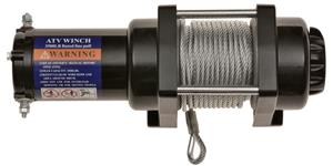 winch with synthetic rope Q-TECH